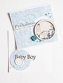 Papiernictvo - Pohľadnica baby blue - 11916128_