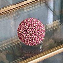 Prstene - {LETO 2020} ružový prsteň na leto - 11916557_