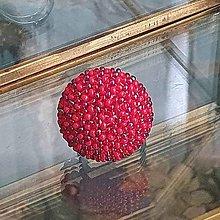 Prstene - {LETO 2020} červený prsteň na leto - 11916610_