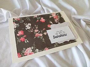 Papiernictvo - Pohľadnica You are my sunshine - 11915816_