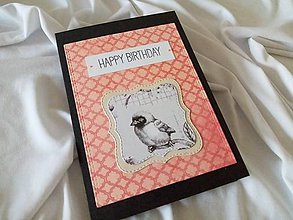 Papiernictvo - Pohľadnica Happy Birthday - 11915896_