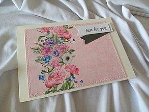 Papiernictvo - Pohľadnica Just for you - 11915901_
