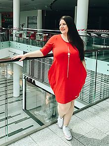 Šaty - Šaty balónový strih M08-tepl-IO10 dopredaj skladu - 11917060_