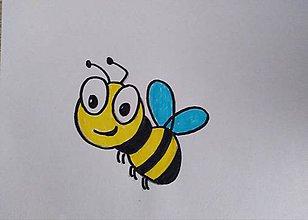 Rúška - Detské rúško - Včielka - 11920843_