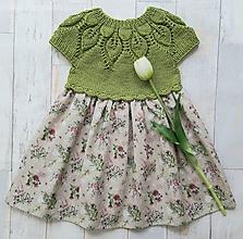 Detské oblečenie - Šaty ...Lúčne kvety (2-3 roky) - 11921895_