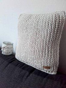 Úžitkový textil - Prírodný vankúš FARMHOUSE - 11919821_