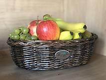 Košíky - Prútena miska na ovocie/pečivo - 11920261_