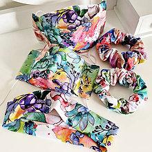 Rúška - Rúško 3D akvarelové kvety - 11919711_