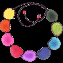 Náhrdelníky - Serpiente Color grande - 11920774_