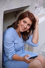 Šaty - Šaty DALIA - modrofialový - 11919405_