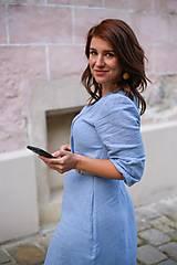 Šaty - Šaty DALIA - modrofialový - 11919407_