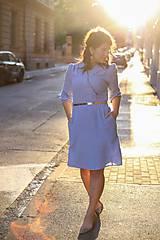 Šaty - Šaty DALIA - modrofialový - 11919413_
