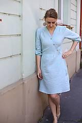 Šaty - Šaty DALIA - mentolový - 11919457_