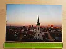 Fotografie - Západ slnka nad Bratislavou - 11922579_