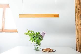 Svietidlá a sviečky - Svietidlo z dreva ENO - 11921491_