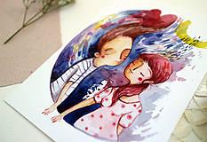 Grafika - Rôzne formy lásky č.1 - 11926336_