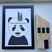 Obrazy - Panda do izbičky... - 11926821_