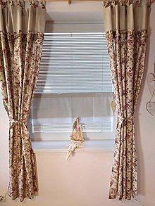 Úžitkový textil - Romantické závesy - 11927212_