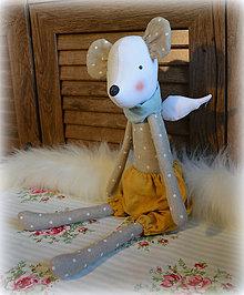 Bábiky - Myš.ko Myš - 11925348_
