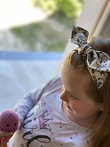Ozdoby do vlasov - Čelenka -rozkvitnuté kvety - 11926445_