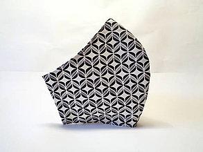 Rúška - Pánske rúško retro - 11923068_