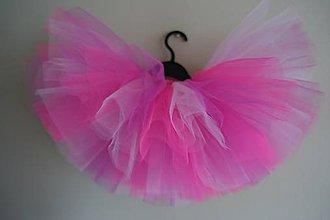 Detské oblečenie - Ružový ohňostroj tutu - 11925717_
