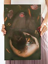 Fotografie - FineArt print Dievča s rybkou 1 - 11924994_