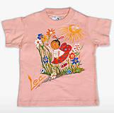 Tričká - Detské tričko-Lienka - 11924996_