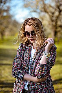 Kabáty - Pestrofarené sako  3 - 11925397_