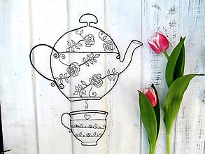 Dekorácie - čaj šípkový ☕ - 11925955_