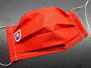 Rúška - Rúško s Sk znakom (Červené biely znak) - 11932511_