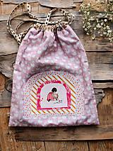 Textil - vreckúško dievčatko - 11930269_