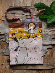 Detské tašky - detská taštička.. psík - 11930130_