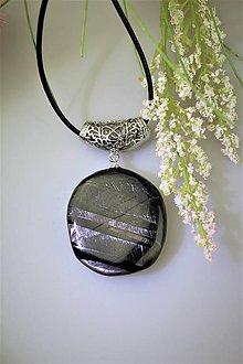 Náhrdelníky - hyperstén prívesok - ochranný šperk - 11930052_
