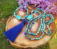 Iné šperky - Set z minerálu amazonit - 11933278_