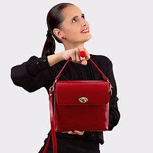 Kabelky - Kožená kabelka MARIMA - 11933319_
