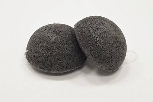 KONJAC špongia  (Čierne aktívne uhlie)