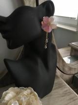 Náušnice - Náušnice kvet - 11930963_