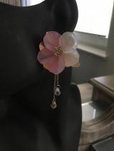 Náušnice - Náušnice kvet - 11930965_