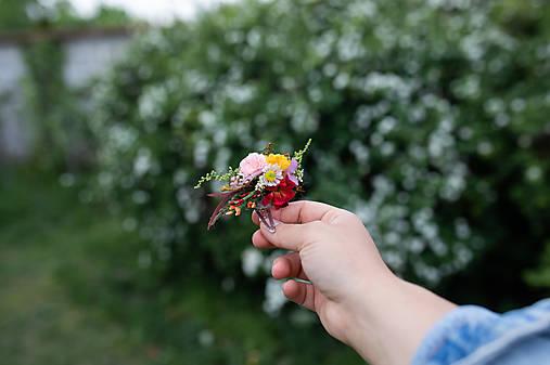 """Kvetinová pukačka """"natrhám si šťastie"""" - na ukážku"""
