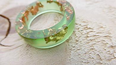 Prstene - Živicový prsteň - 11929362_