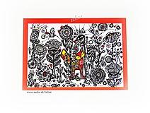 Papiernictvo - Líška hrdzavá ♥ klasická pohľadnica - 11927967_