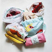 Úžitkový textil - #EveryIndividualMatters - Zero waste sada na nákup - 11930562_