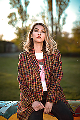 Kabáty - Pestrofarené sako 1 - 11932492_