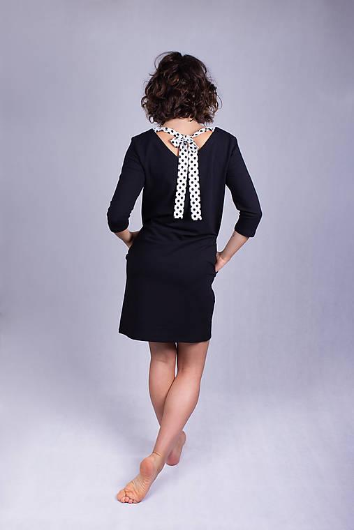 Šaty - Šaty winter black (XS/S) - 11932552_
