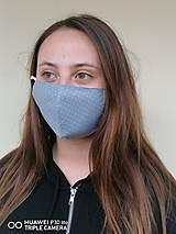 Rúška - Tvarované rúška na tvár - vetvičky - 11933816_