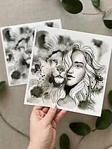 Obrazy - Divočina, (ART PRINT) akvarel - 11929391_
