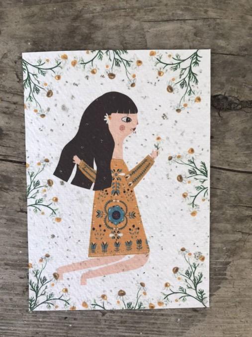 Kvitnúce pohľadnice