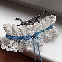 Bielizeň/Plavky - Svadobný podväzok pre nevestu VI. - 11934846_
