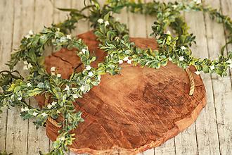 Ozdoby do vlasov - Jemný kvetinový venček - 11938803_